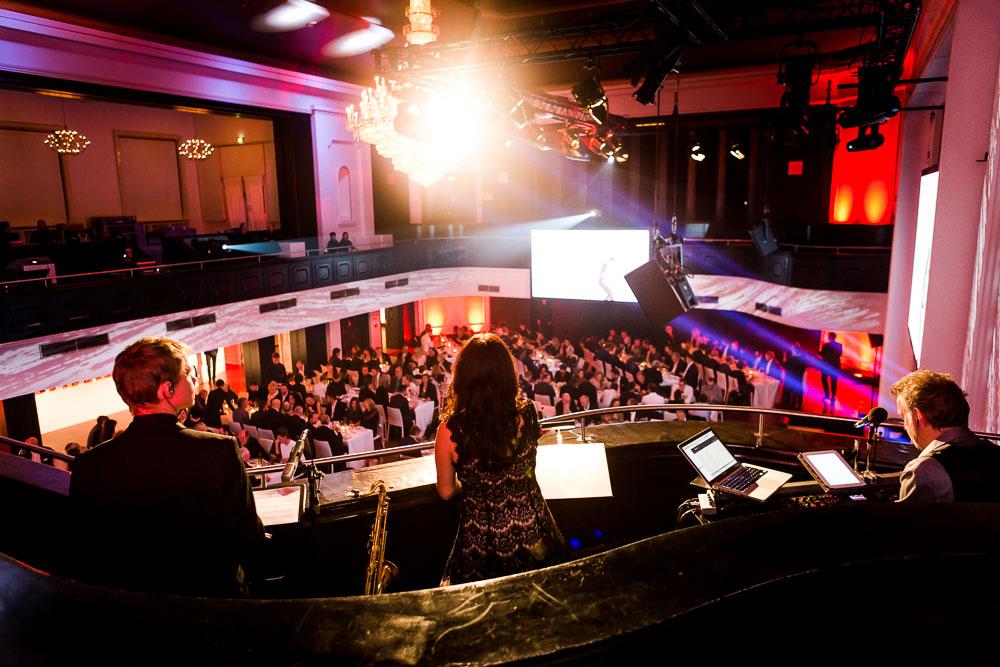 eventfotograf preisverleihung Curiohaus Eventfotografie Hamburg Band